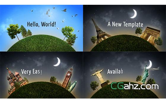 快乐旅行节目栏目包装宣传推广AE模板