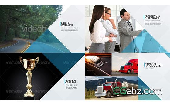 现代企业商务或品牌宣传片AE模板