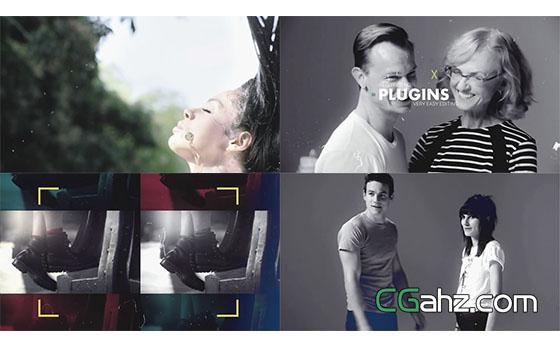 时尚宣传片包装片头展示AE模板