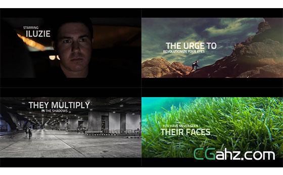 动感短片微电影宣传片展示AE模板