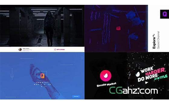 网络频道或电视节目的宣传包装设计