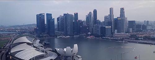 新加坡城市风光视频素材