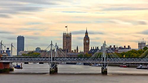 美丽的城市伦敦视频素材