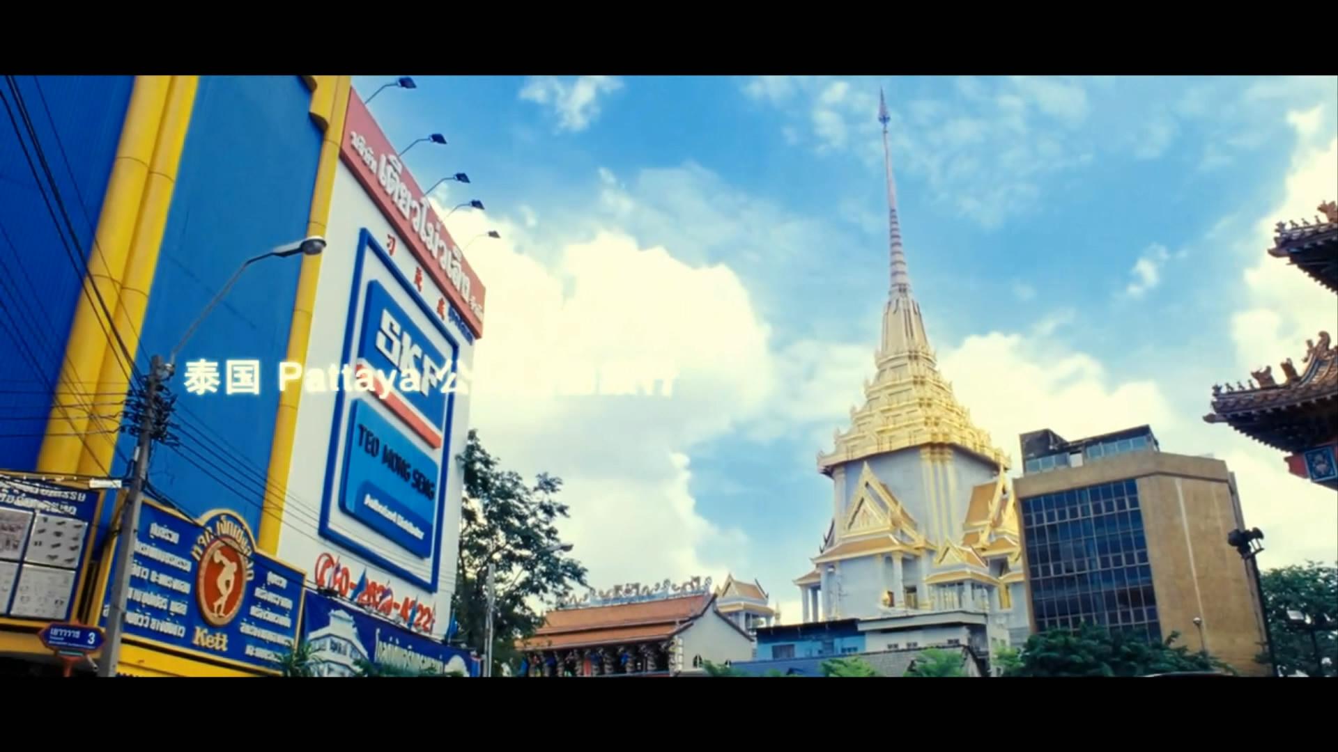 泰国城市风光视频素材