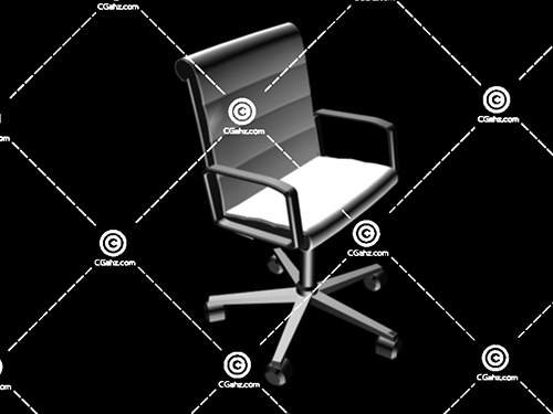 办公椅3D模型下载