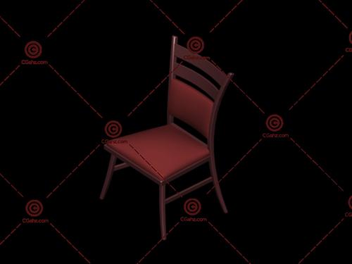 常见的家用椅子3D模型免费下载