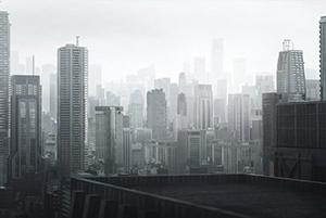 日本东京城市群建筑3D模型
