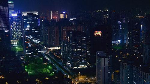 广州城市风光视频素材下载