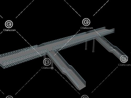 天桥3D模型下载