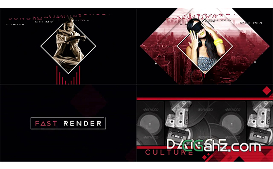 俱乐部或派对舞会的宣传推广视频AE模板