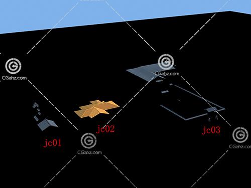 屋顶瓦片3D模型下载