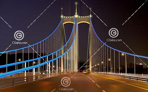 平胜大桥3D模型下载