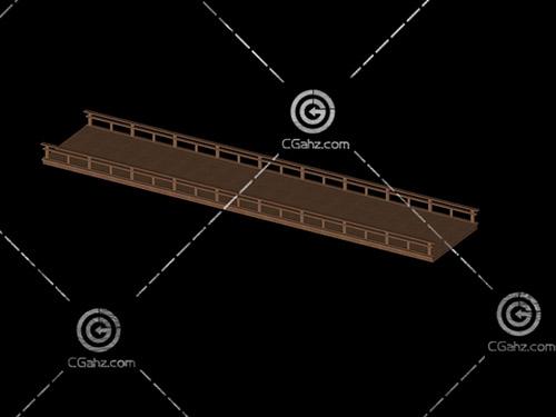 木平橋3D模型下載