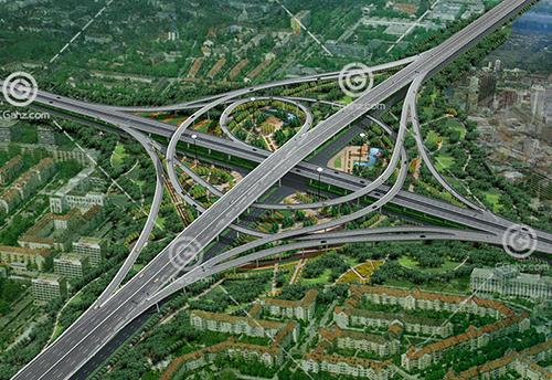 常见的环形高架桥模型下载