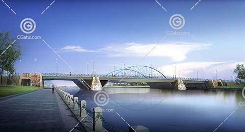 常见的大桥模型下载