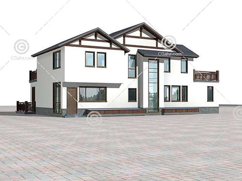 简单的别墅模型下载