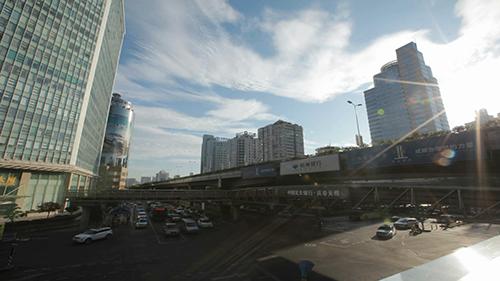 杭州延时摄影视频素材
