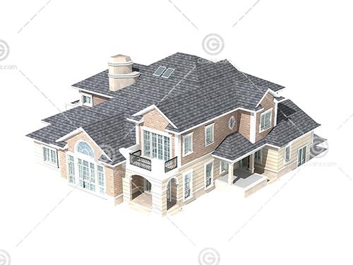 双层别墅模型下载