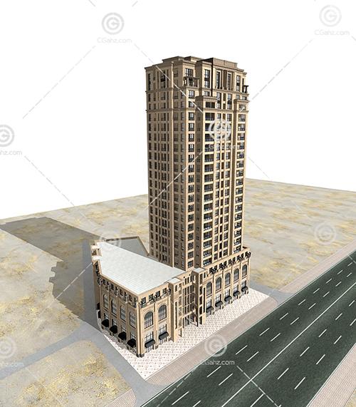 常见的高层建筑3D模型下载