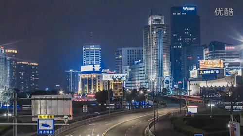 宁波城市风光视频素材