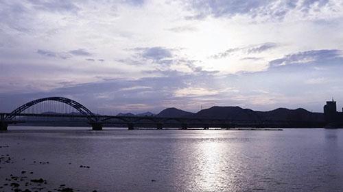 杭州城市风光视频素材