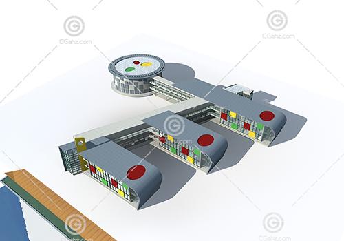 幼兒園3D模型下載