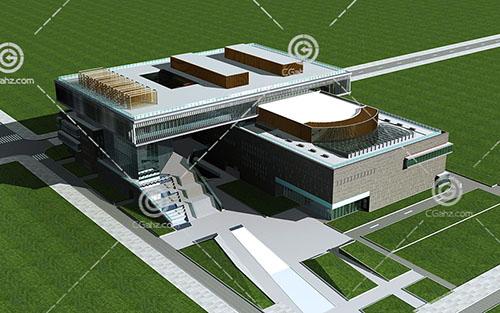 常见的大型商业综合体3D模型下载