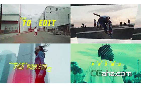 拥有多样变化的城市主题宣传片AE模板