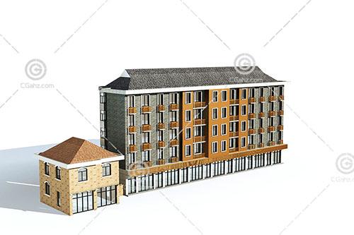 多层住宅模型下载