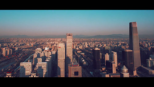 北京城市車流視頻素材