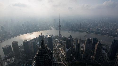 中国城市风光视频素材