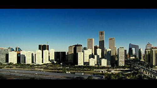 北京城市建筑视频素材
