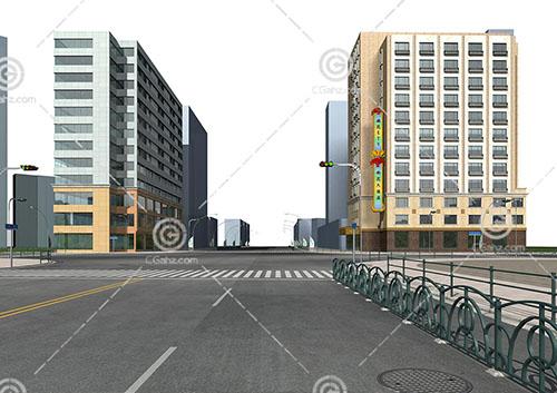 雨花大酒店3D模型下载