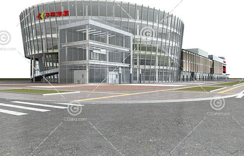 华联商厦3D模型下载