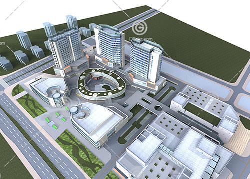 大型商业中心模型下载
