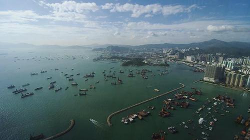 香港城市風光視頻素材