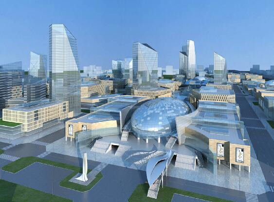 商业中心规划模型下载