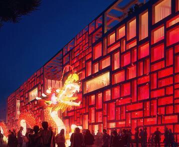 中国风建筑表现作品欣赏