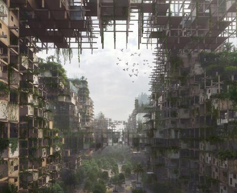 木架结构建筑表现作品