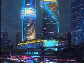 炫酷的建筑效果图作品