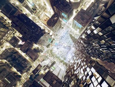 具有视觉冲击力的建筑效果图欣赏