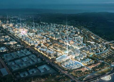 上海写意城市规划效果图作品欣赏