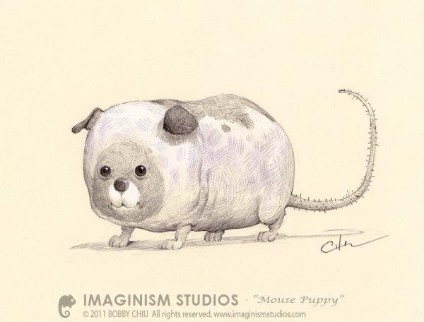 一组可爱动物插画 Bobby Chiu &Kei Acedera